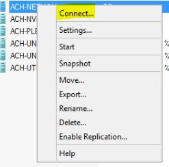 Hyper-V Connect