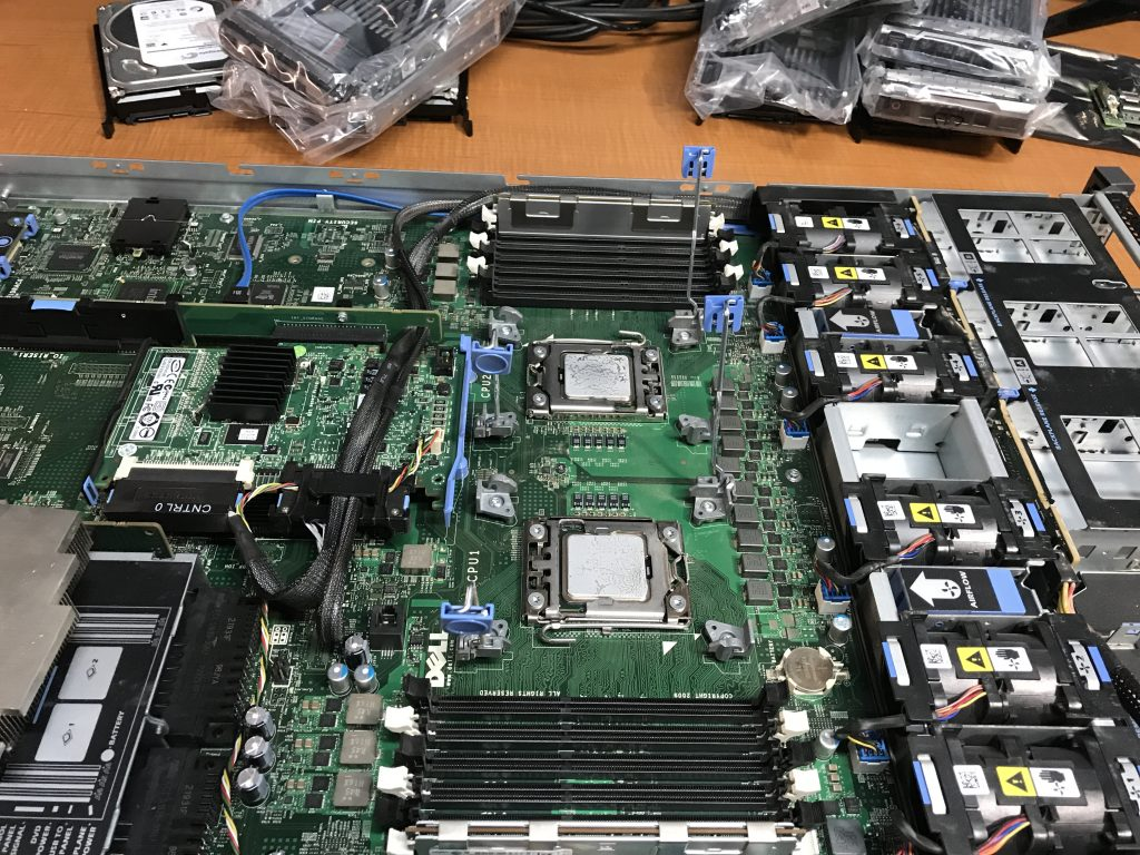 Dell R610 Intel Xeon CPU Upgrades - Old CPUs