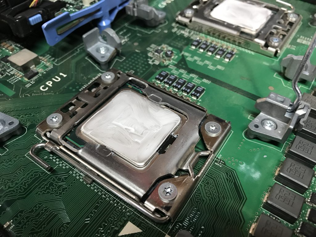 Dell R610 Intel Xeon CPU Upgrades - New Thermal Paste