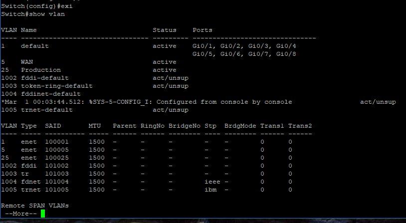 Cisco 2960G VLANs - assign ports