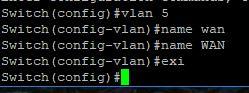 Cisco 2960G VLANs database config